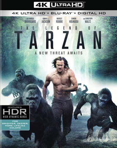 The Legend Of Tarzan 4k Ultra Hd Tarzan Lorde E Margot Robbie