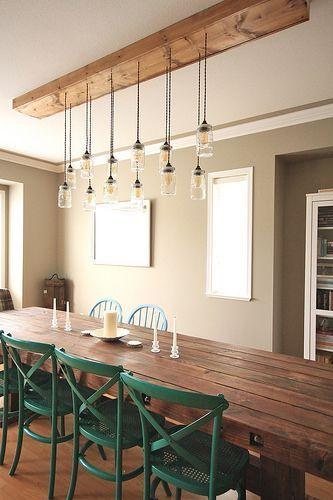 Lighting Rustic Dining Room, Rustic Dining Room Lighting
