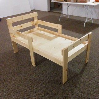 Simple Stylish Toddler Bed For Under 40 Diy Toddler Bed