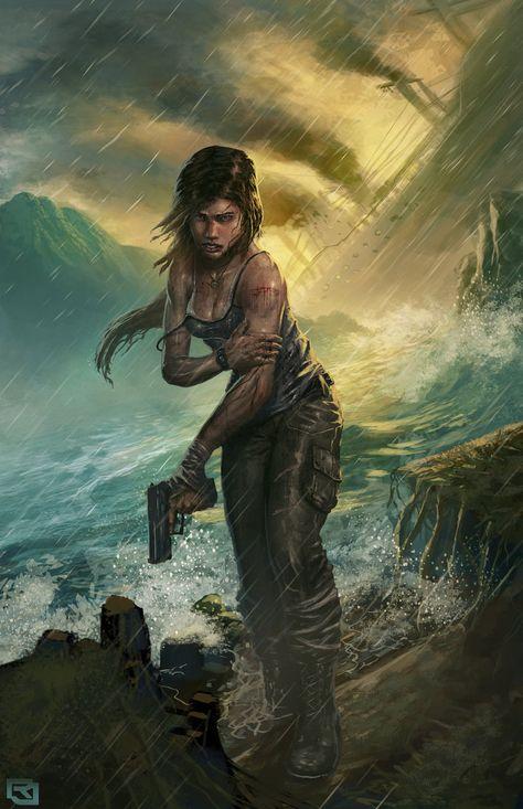 Lara Croft Reborn Contest Entry by mickehill.deviantart