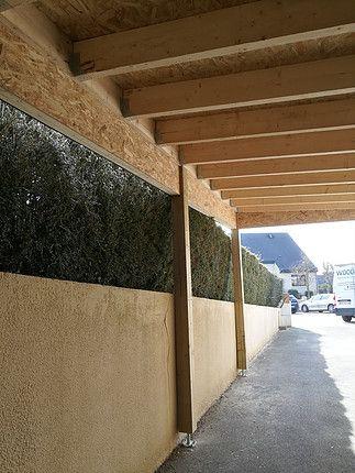 terrasse dalle beton Exterieurs Pinterest