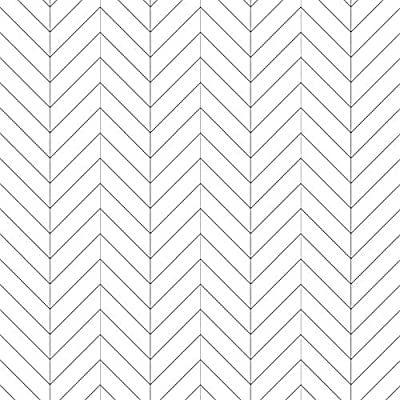 Black White Herringbone Wallpaper Pvc Background Zigzag Chevron Wallpaper For Livingroom B Herringbone Wallpaper Wallpaper Designs For Walls Chevron Wallpaper