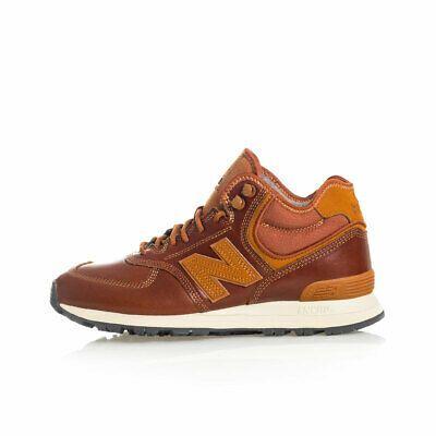new balance 574 marrone
