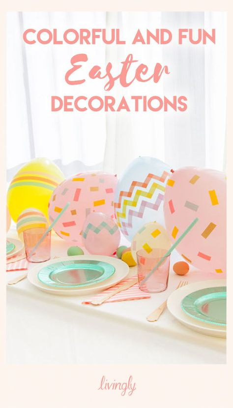 With Easter right around the corner, it's time to bring out the tulips, the pastels, and all things bunny and chick related. To get you thinking how to decorate your own house for the holiday, ahead are chic and cheerful DIYs to consider for your own space. Happy crafting!