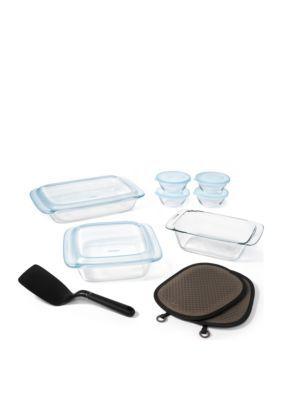 Oxo Good Grips 16 Piece Glass Bakeware Set Clear Good Grips