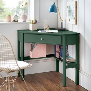 Overstock Com Online Shopping Bedding Furniture Electronics Jewelry Clothing More In 2020 Wood Corner Desk Corner Writing Desk Corner Desk