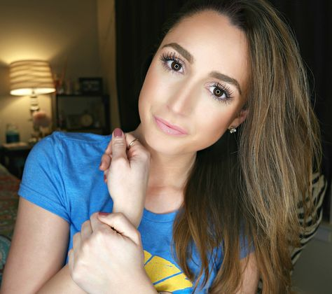 5 minute natural everyday makeup routine -- using all drugstore products!