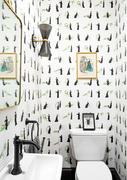 Bugging Me - A Designer's Home That Takes Wallpaper To The Next Level - Photos