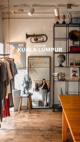 Photos from a day in Kuala Lumpur