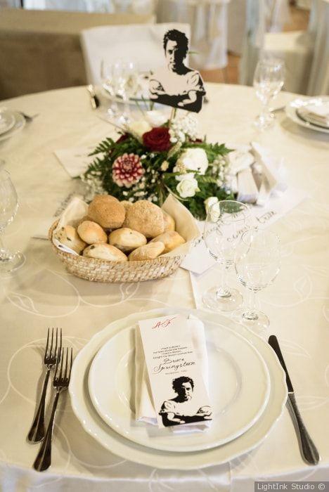 Segnaposto Tavolo Matrimonio.A Tavola Con Stile 50 Mise En Place Per Il Vostro Mise En Place