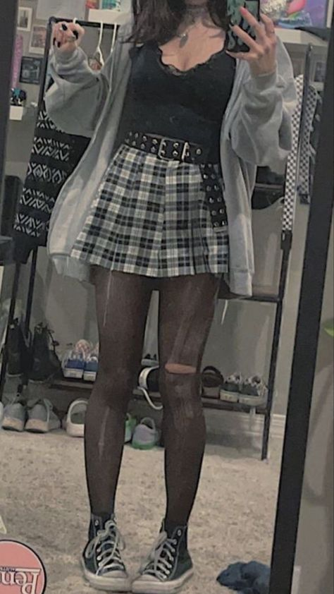 Grunge outfit inspo
