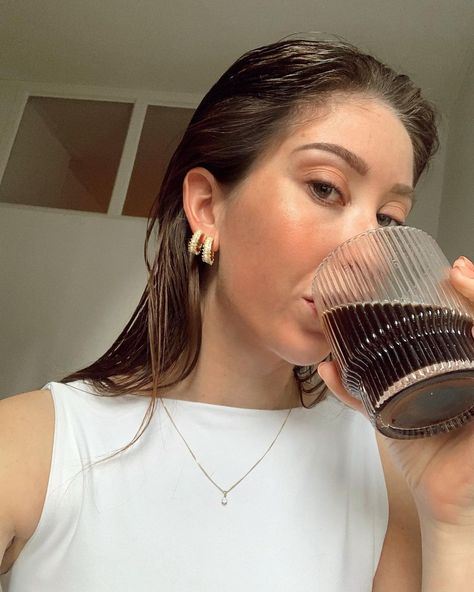 """MK.'s Instagram post: """"Coffee to get me through the last workday of the week. ☕️ • • • • #likeforlike #followme #trends21 #fashiontrends #ilovestreetstyle…"""""""