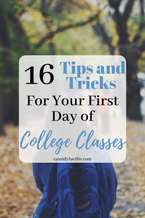 Genius First Day of College Tips 16 First Day Of College Tips For The Best Freshman Year