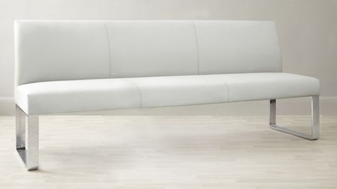 Loop 4 To 5 Seater Bench With Backrest Danetti Archive