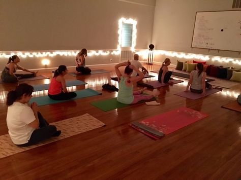 East Side Vibes Yoga Classes Take Place Inside A Furniture Factory In East Downtown How Edgy Houston Yoga Houston Yogis Yoga Inspiration Yoga Houston Yoga