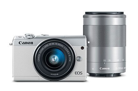 Refurbished Eos M100 Ef M 15 45mm F 3 5 6 3 Is Stm Ef M 55