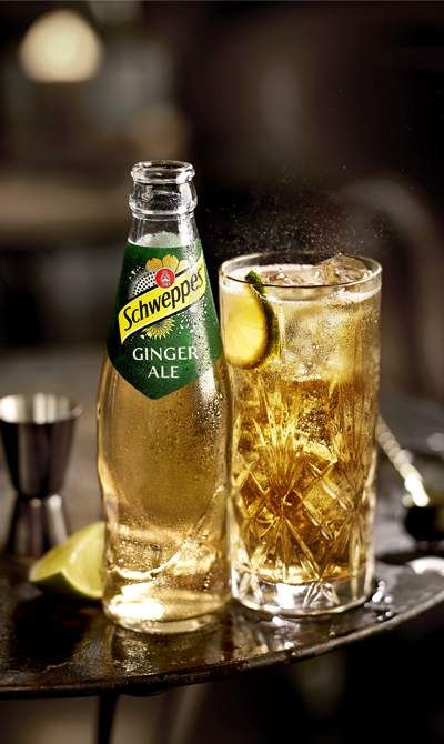 Whiskey Ginger Ale Drankjes Drank