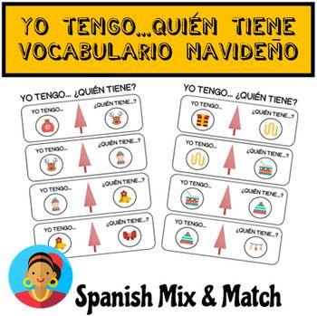 Juego Yo Tengo Quién Tiene Para Practicar Vocabulario De La Navidad En Españolgame Learning Spanish Learning Spanish For Kids English Teaching Resources