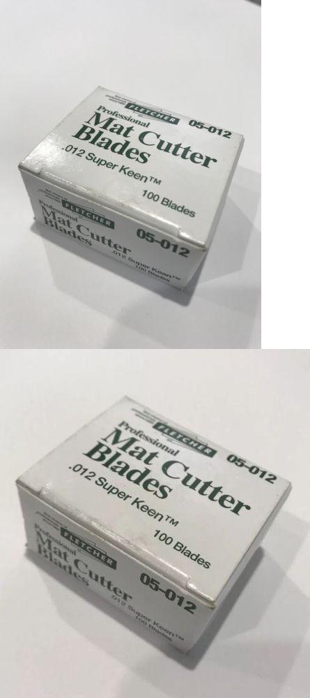 Framing And Matting 37573 Fletcher Terry Professional Mat Cutter Blades 100 Pk 05 012 012 Super Keen Buy It Now Onl Ebay Decorative Boxes Blade