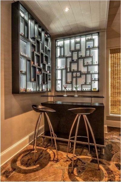 Wohnzimmer Bar Attraktive Und Stilvolle Ideen Fur Eine