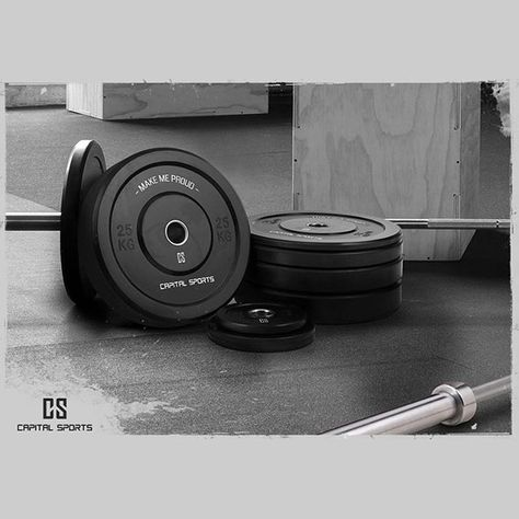 Make us proud: KEEP PUSHING! #CAPITALSPORTS #motivation #sports #muscles #cantstopwontstop #pushyourlimits #nolimits #competition #beastmode #weightlifting #gym #body #health #fitness #nopainnogain #crossfit #berlin #motivation #weightlifting #lift #push #plates #bumperplates