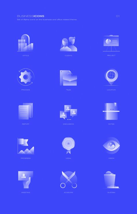 Alpha Icons Project