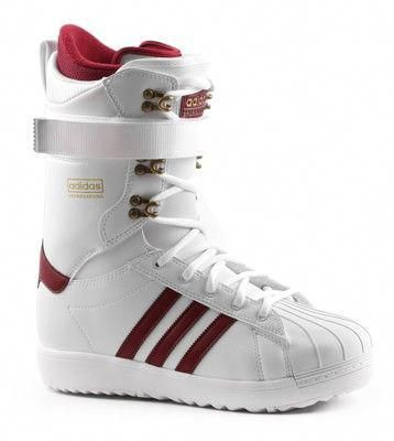 Adidas The Superstar Snowboard Boots WhiteBlackGold Metallic