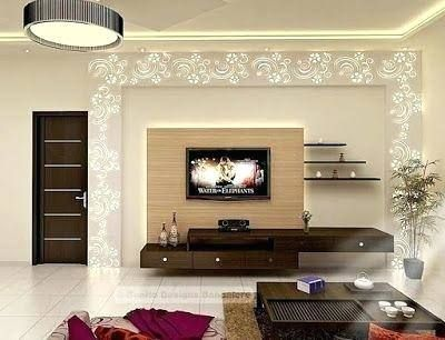 Living Dining Room Ideas Uk With Images Modern Tv Wall Units
