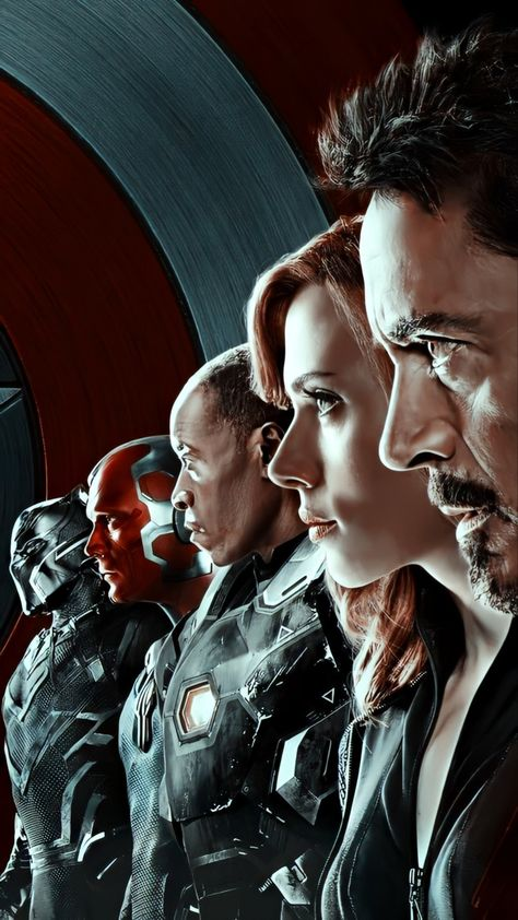 Team Iron Man Lockscreen