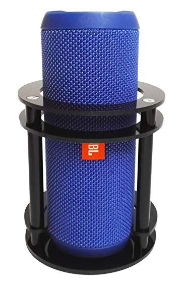 Fitsand Tm Speaker Stand Holder Guard Station For Jbl Flip 4 3 2 1 Splashproof Portable Bluetoot Speaker Stands Bluetooth Speakers Portable Bluetooth Speaker