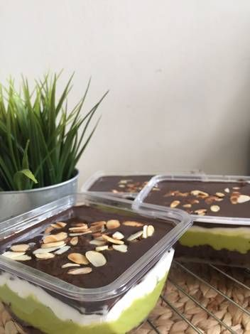 Resep Dessert Box Browkat Brownies Alpukat Oleh Yulia Helsi Resep Resep Makanan Penutup Makanan Penutup Makanan