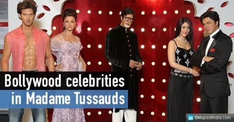 Bollywood celebrities who have their statues in Madame