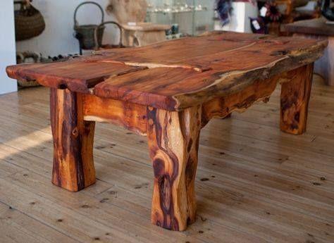 Supers Idees Bricolage Pour Votre Prochain Projet Menuiserie Bois Woodwork Wood Table En Bois Rustique Table Bois Brut Meuble Bois Brut