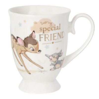Happy Homewares Disney Bambi and Thumper Sketch Magical Moments Ceramic Money Bank Officially Licensed