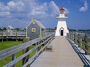 Lighthouse In New Brunswick Canada Beautiful Places To Live
