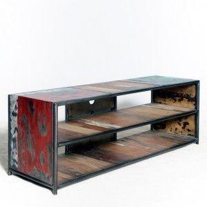 meubles tv meuble tv industriel