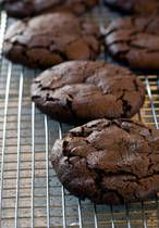 Cake Mix Cookies!!  So totally easy and yummy. I used a devils food cake mix and only change was adding an additional 1 tbsp of water more than recipe calls for. I added chocolate chunk after dough was ready. Yummy!!!!!!