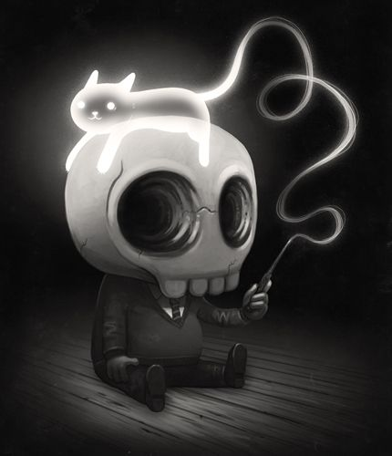 The Art Of Mike Mitchell. How cute is that?