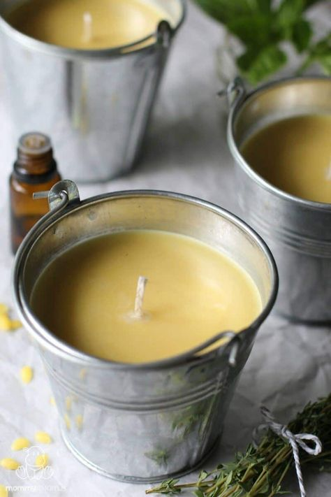 How To Make Citronella Candles Citronella Candles Diy