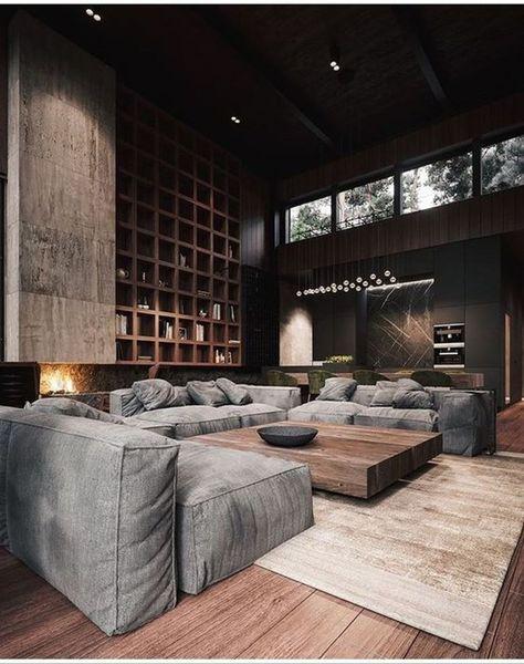 50 Stunning Modern House Design Interior Ideas - Trendehouse