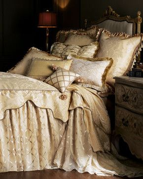 """Sweet Dreams-""""Camelot"""" Bed Linens - traditional - bedding - Neiman Marcus"""
