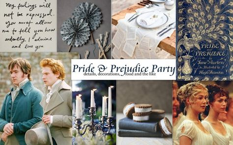 Pride and Prejudice Themed Party Details