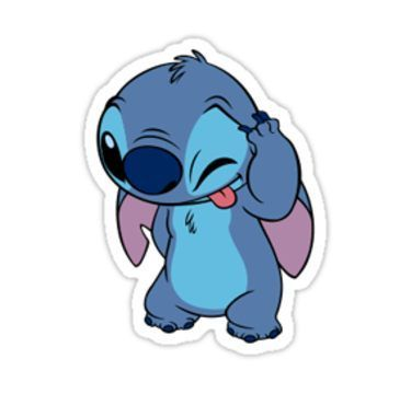 Stitch Sticker Sticker With Images Meme Stickers Laptop
