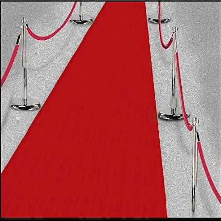 9 Movie Premier Fabric Floor Runner 15 Decoration Each Party Supplies Red Carpet Runner Hollywood Red Carpet Red Carpet Party