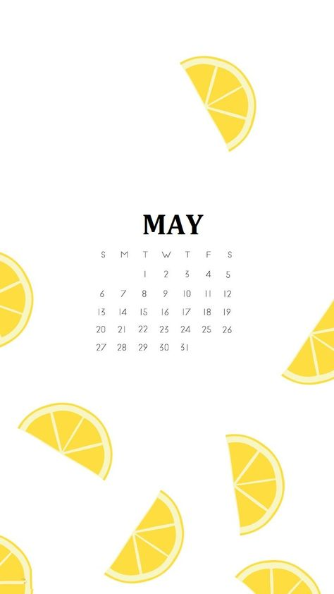 May 2018 Iphone Calendar Wallpapers With Images Calendar