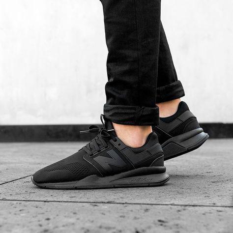 New Balance MS247EK | New balance black, All black sneakers ...