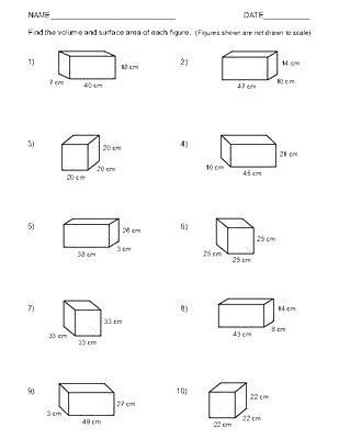 26 Volume Of Rectangular Prism Worksheet Volume Rectangular Prism Worksheet Answers Matematik Egitim