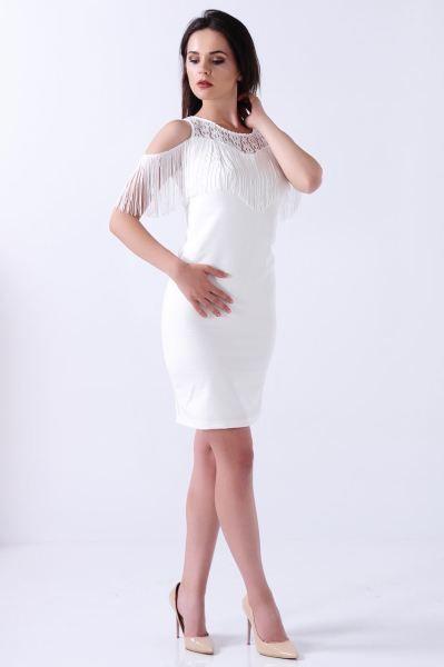 Elbise Omuz Acik Puskullu Beyaz Elbise Kislik Modern Kadin Kapali Tesettur Gunluk Gotik Dugun Moda Cool Kombin Kisa Elbise Elbise Modelleri Kadin