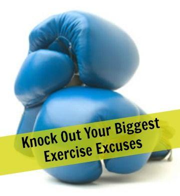 Still making exercise excuses? We're busting 'em all! | via @SparkPeople #fitness #workout #motivation