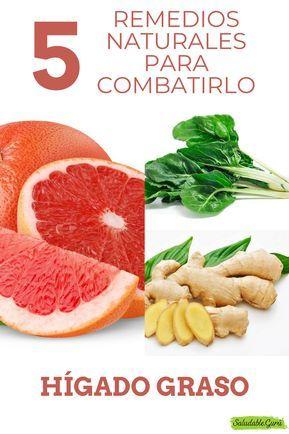 Higado graso remedios naturales